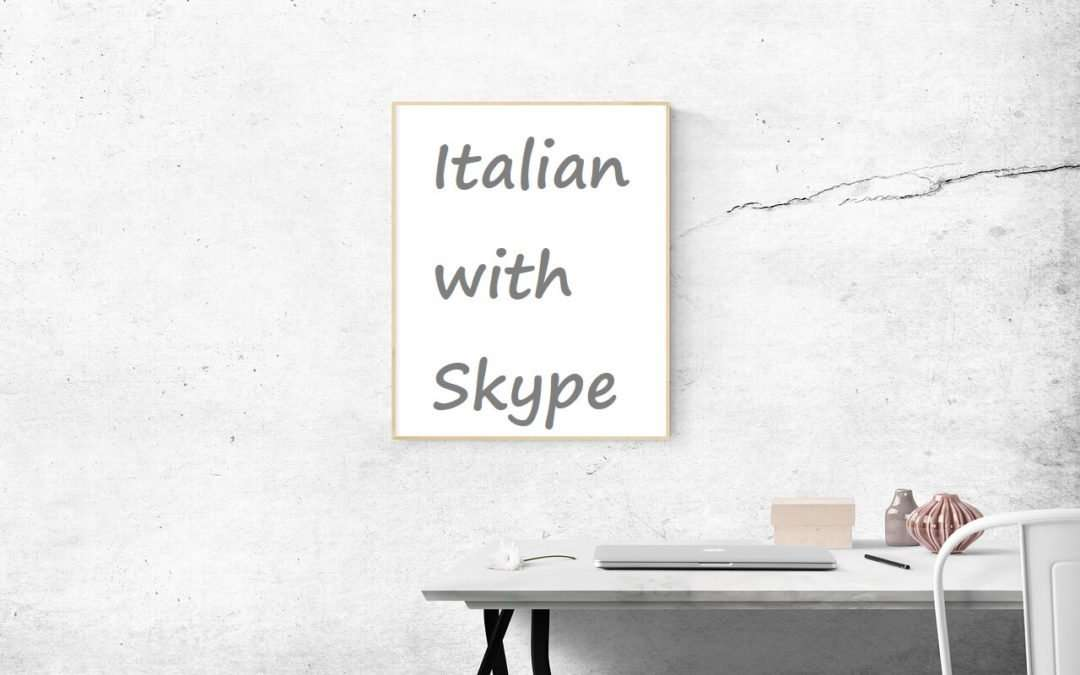 Learn Italian online with Skype lessons and courses